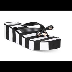 Kate Spade Rhett Stripe Thong Sandals